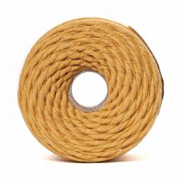 Cotton Macrame Cord 500g | Mustard