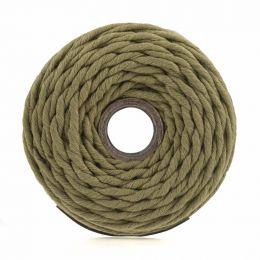 Cotton Macrame Cord 500g | Olive