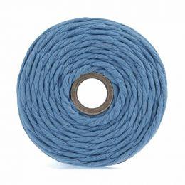 Cotton Macrame Cord 500g | Light Blue