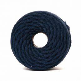 Cotton Macrame Cord 500g | Navy