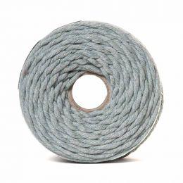 Cotton Macrame Cord 500g | Silver