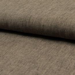 Georgio 100% Linen Fabric   Taupe