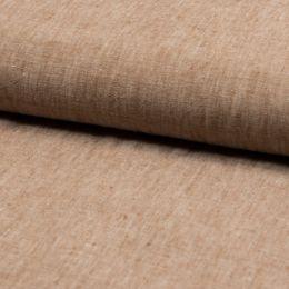 Georgio 100% Linen Fabric | Tobacco