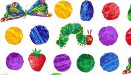 The Very Hungry Caterpillar Fabric | Hungry Caterpillars