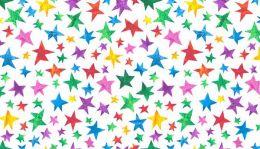The Very Hungry Caterpillar Fabric | Stars