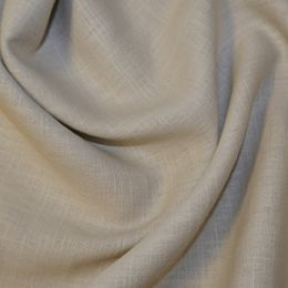 Premium Enzyme Washed Linen Fabric   Natural