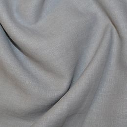 Premium Enzyme Washed Linen Fabric   Grey