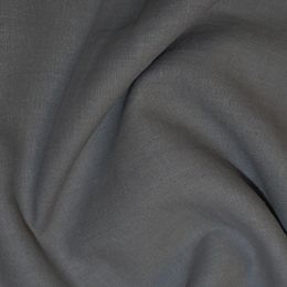 Premium Enzyme Washed Linen Fabric | Pewter