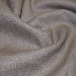 Premium Enzyme Washed Linen Fabric   Stone
