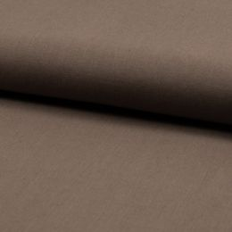 Linen Rich Even Weave Fabric | Coffee
