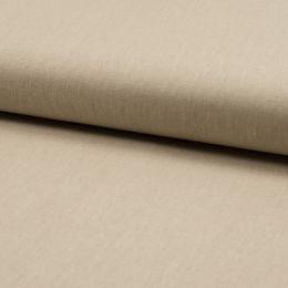Linen Rich Even Weave Fabric | Sand