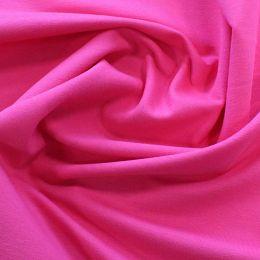 Organic French Terry Jersey Fabric | Fuchsia
