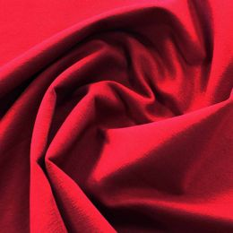Organic French Terry Jersey Fabric | Claret