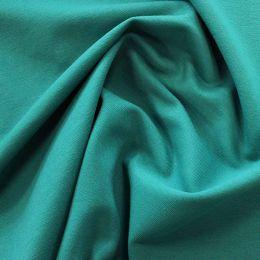 Organic French Terry Jersey Fabric | Petrol