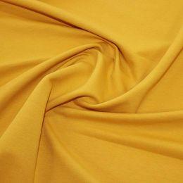 Organic French Terry Jersey Fabric | Ochre