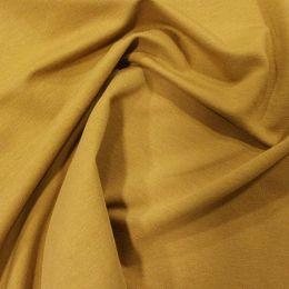 Organic French Terry Jersey Fabric | Mustard