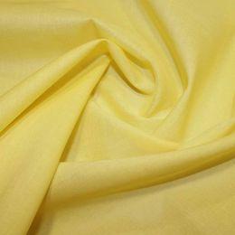 Organic Cotton Voile Fabric | Lemon