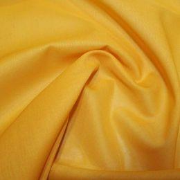 Organic Cotton Voile Fabric | Ochre