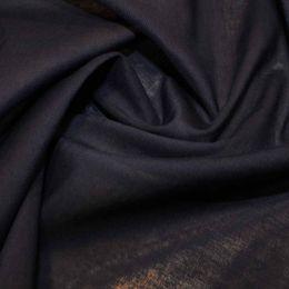 Organic Cotton Voile Fabric | Navy