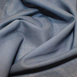 Organic Cotton Voile Fabric   Denim