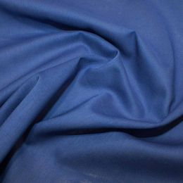Organic Cotton Voile Fabric | Royal