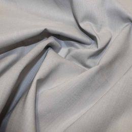 Organic Cotton Voile Fabric | Grey