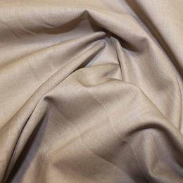 Organic Cotton Voile Fabric | Mushroom