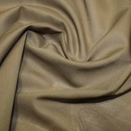 Organic Cotton Voile Fabric | Olive