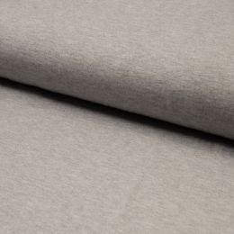 Bamboo Jersey Fabric | Light Grey Melange