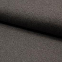 Bamboo Jersey Fabric | Dark Grey Melange
