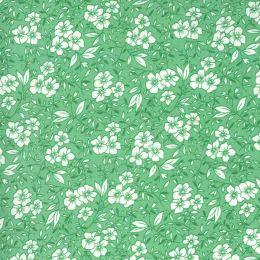 Moda 30s Playtime Fabric | Small Floral Aloe