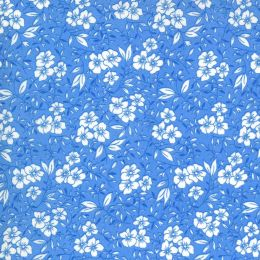 Moda 30s Playtime Fabric | Small Floral Sky