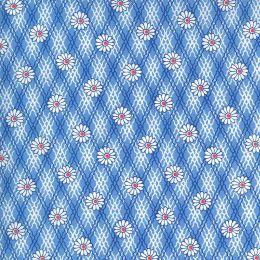 Moda 30s Playtime Fabric   Daisy Sky