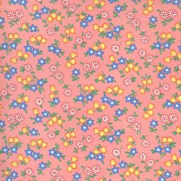 Moda 30s Playtime Fabric   Little Flowers Petal