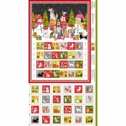 Yappy Christmas Makower Fabric | Yappy Advent