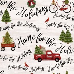 Home For The Holidays Fabric   Festive Terms