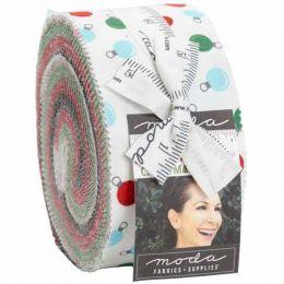 Moda Jelly Roll   Holiday Essentials Christmas