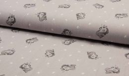Stitch It' Textured Cotton Fabric | Unicorn Sand