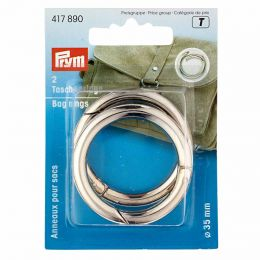 Bag Rings 35mm Silver | Prym