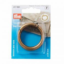 Bag Rings 35mm Antique Brass | Prym