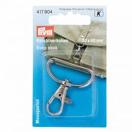Snap Hook Silver | Mid - Lrg | Prym
