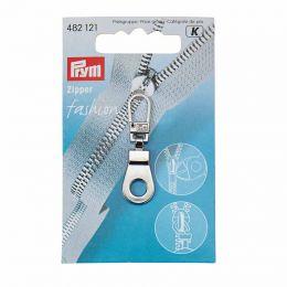 Zip Puller   Eyelet - Silver