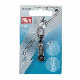Zip Puller | Ball Tab | Steel Colour