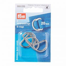 D Rings 20mm | Silver | Prym