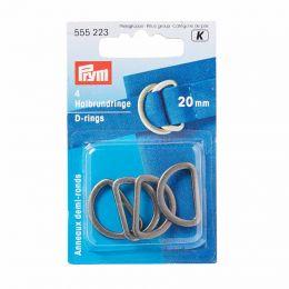 D Rings 20mm | Antique Silver | Prym