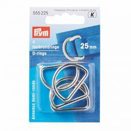 D Rings 25mm | Silver | Prym