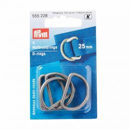 D Rings 25mm | Antique Silver | Prym