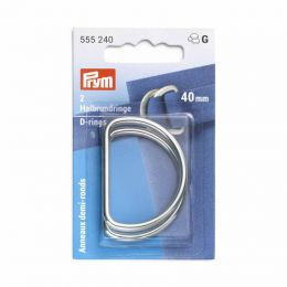 D Rings 40mm | Silver | Prym