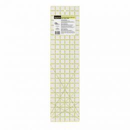 Omnigrip Non-Slip Universal Ruler | Inch Scale | 6 x 24 inch angles