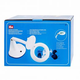 Magnifying Glass with Lamp & Base | Prym
